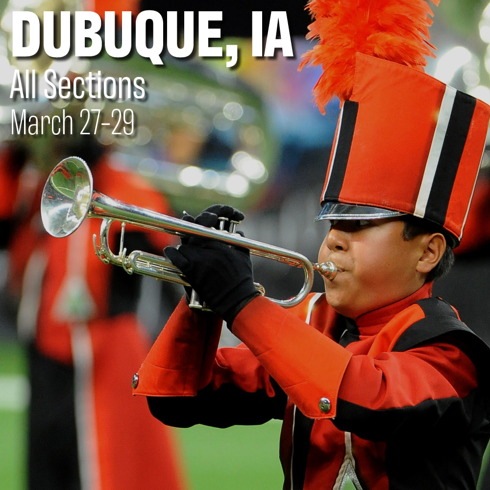 Colt Cadets 2020; Dubuque, Iowa; All Sections; March 27-29
